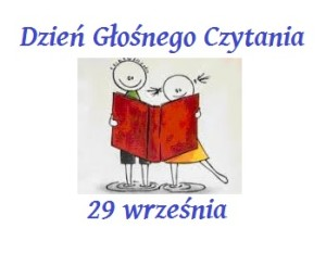 29 września  Ogólnopolski Dzień Głośnego Czytania