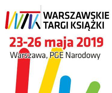 3c3cb53e41b847 Warszawskie Targi Książki - program spotkań - piątek, 24 maja 2019