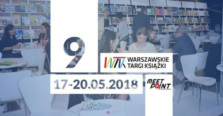 3bb05f23 9. Warszawskie Targi Książki 2018, program, niedziela, 20 maja 2018