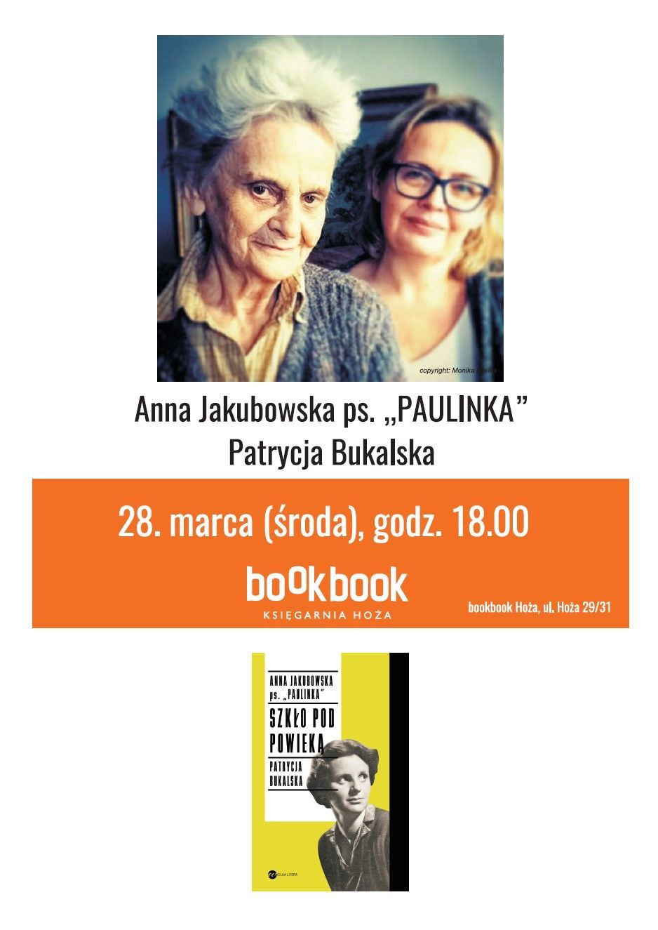 "BookBook,  Anna Jakubowska ps. ""Paulinka"""