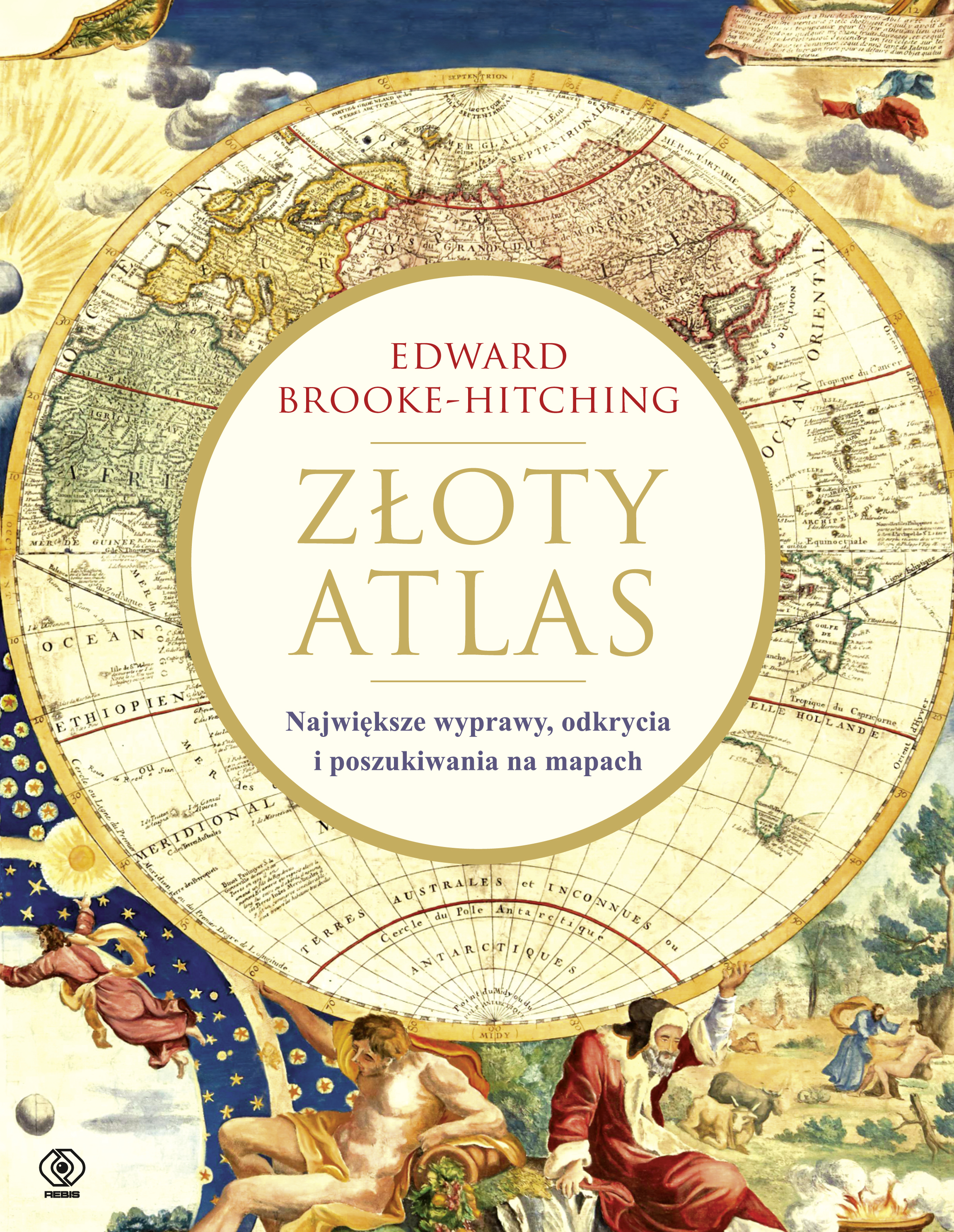 """Złoty atlas"", Edward Brooke-Hitching"